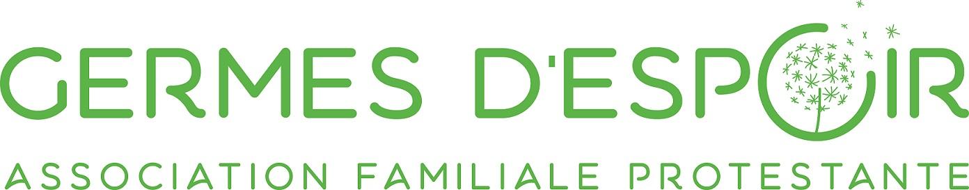 """Association Familiale Protestante """"Germes d'Espoir"""" Logo"""